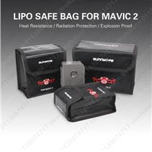 DJI MAVIC 2 Pro Zoom LiPo Li-Po Battery Charging Bag Fireproof Safety