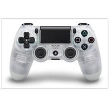 SONY DUALSHOCK 4 WIRELESS CONTROLLER FOR PC AND PS4 SYSTEM (CLEAR)