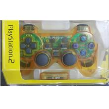 PLAYSTATION 2 DUALSHOCK 2 WIRELESS CONTROLLER (YELLOW)