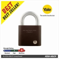 Yale Y300/63/127/1 Black Series Hardened Steel Padlock 63mm