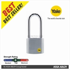 YALE Y120/50/163/1 Silver Series Outdoor Brass Padlock 50mm