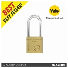 Yale YE1/30/132/1 Essential Series Indoor Brass Long Padlock 30mm
