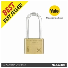 Yale YE1/50/166/1 Essential Series Indoor Brass Long Shackle Padlock