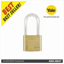 Yale YE1/40/140/1 Indoor Brass Long Shackle Brass Padlock 40mm