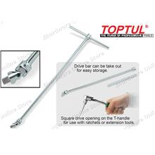 Toptul Flexible Drivers with Sliding T-Handle Wrench (CTLA) (Open Stoc