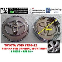TOYOTA VIOS YR08-12 RIM CAP FOR ORIGINAL SPORT RIMS