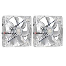 COOLER MASTER Fan SILENT FAN 12CM 2-FAN PACK (R4-L2S-122B-GP) BLU LED