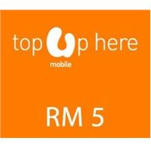 Umobile instant Top UP RM5, OUR PRICE RM6.00