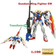 Daban Gundam MG 1/100 Wing Fighter EW with Base Stand