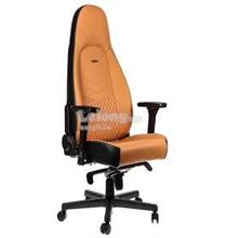 NOBLECHAIR ICON FULL LEATHER GAMING CHAIR - COGNAC/BACK