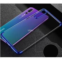 Ready Stock@ Huawei P20 Pro Transparent TPU Back Case Cover Casing
