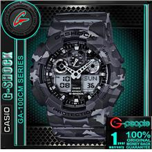 CASIO G-SHOCK GA-100CM-8A CAMOUFLAGE WATCH ☑ORIGINAL☑