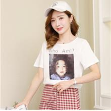 FairyCity Korean Breastfeeding Print Cotton T-Shirt [Pre-Order] OLM-4