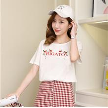 FairyCity Korean Breastfeeding Print Cotton T-Shirt [Pre-Order] OLM-5