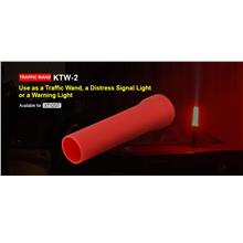 Klarus KTW-2 Silicone Red Diffuser Traffic Wand - XT12GT or 45mm Bezel