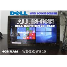 Dell Inspiron 20 (3243)ALL IN ONE,Intel 2.16Ghz,4Gb,19.5' TouchScreen