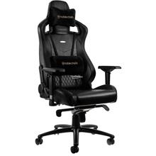 NOBLECHAIRS EPIC GAMING CHAIR - GENUINE LEATHER BLACK