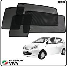Perodua Viva Custom Fit OEM Sunshades (4pcs)