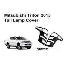 Mitsubishi Triton 2015 Tail Lamp Cover Carbon