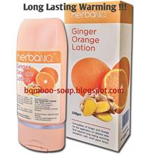 CHT Ginger Orange Lotion