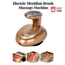 Electric Meridian Brush Massage Machine