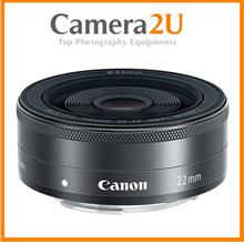Canon EF-M 22mm f/2 STM Lens (Silver) (MSIA)
