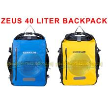 ZEUS Backpack Dry Pack Z 40 Liter (Yellow/Blue)