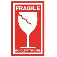 SHIPPING MATERIAL ADD-ON: FRAGILE STICKER