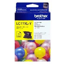 GENUINE BROTHER LC-77XL YELLOW INK CARTRIDGE **NEW**SEALED BOX