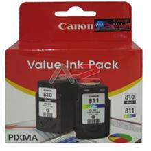 GENUINE CANON PG-810 + CL-811 COMBO VALUE INK CARTRIDGE **NEW**