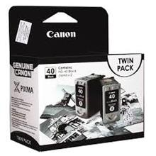 GENUINE CANON PG-40 BLACK TWIN PACK INK CARTRIDGE **NEW**SEALED BOX