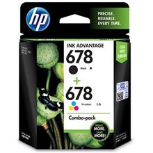 GENUINE HP 678 BLACK + COLOR VALUE COMBO INK CARTRIDGE (L0S24AA) **NEW