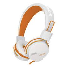 SONIC GEAR VIBRA 5 WIRED HEADSET(WHT ORG)