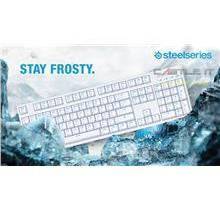 STEELSERIES WIRED USB APEX M260 BROWN SWITCH KEYBOARD (PN64519) WHT