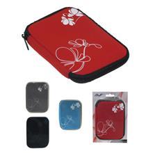 AVF HDD CARRYING POUCH (ZH1100501) BLK/BLUE/RED/WHT