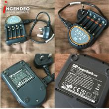 **incendeo** - GP Powerbank H500 Auto Cut Off AA/AAA Battery Charger