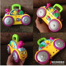 **incendeo** - Mattel Barney and Friends Music Car Toy