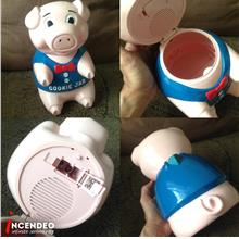 **incendeo** - PIGGY Cookie Jar with Sound