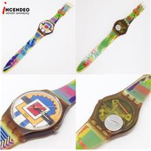 **incendeo** - Swatch Paella Collection Quartz Watch (1992)