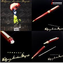 **incendeo** - Authentic MONTBLANC Mozart Red Ball Pen