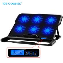 Laptop Cooling Pad 6 Speed Up To 15.6'