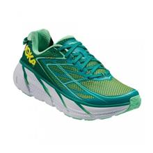 Hoka One One Clifton 3 Tropica green Womens, Size US7.5