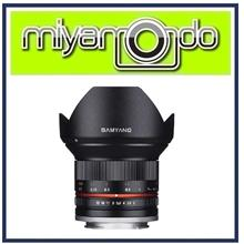 NEW Samyang 12mm f/2.0 NCS CS Lens For Micro Four Thirds Mount