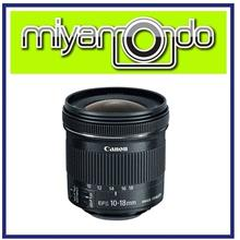 NEW Canon EF-S 10-18mm f/4.5-5.6 IS STM Lens