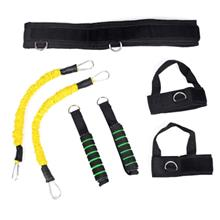 Resistance Band Fitness Pull Rope Muscle Training Elastic Puller (YELLOW)