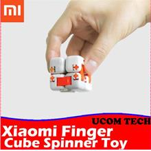 Original xiaomi mitu Cube Spinner Finger Bricks Toy Stress Release Toy