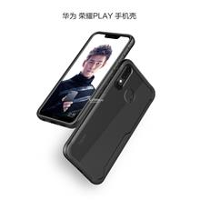 Hybrid Fusion Transparent Back Huawei Honor Play case cover