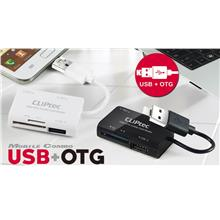 CLIPTEC MOBILE COMBO ALL IN ONE CARD READER USB + OTG (RZR525)