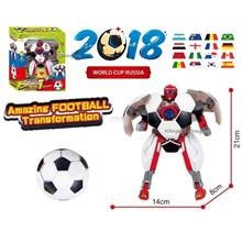 World Cup 2018 Robot Toys Deformation Football Robot Ball Toy  21cm