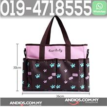 Baby Diaper Bag Mother Handbag Water Resistant Tote Mummy Beg Ibu